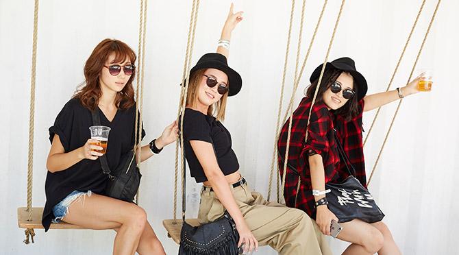 SOUL CAMPを彩った女子達を激写! Cute Fes Girls ~ファッションスナップ~ #3