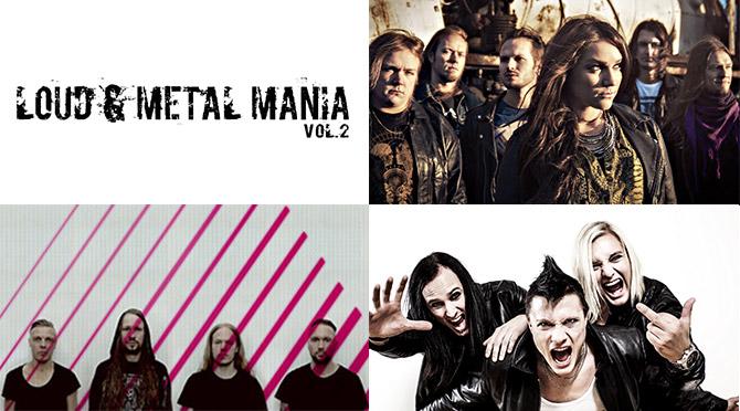 LOUD & METAL MANIAが2年ぶりに開催決定!北欧メタルのバンド3組が参戦