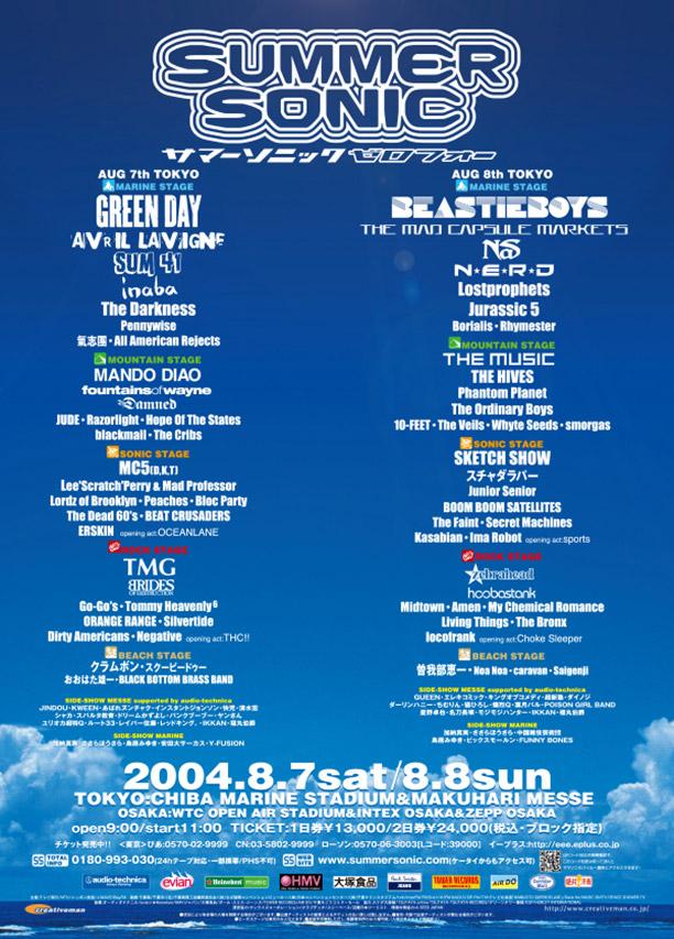 SUMMER SONIC 2002