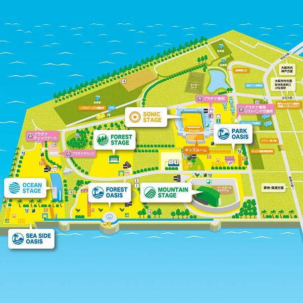 大阪会場マップ