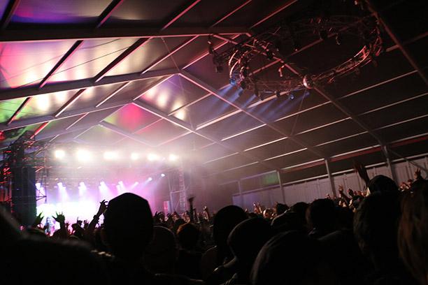 前夜祭ライブ