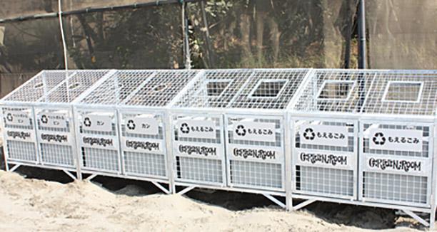 ゴミ箱設置プロジェクト