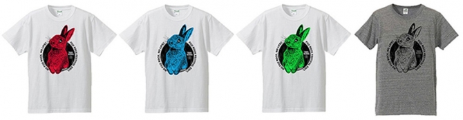 TOWER RECORDS×MADBUNNY Tシャツ
