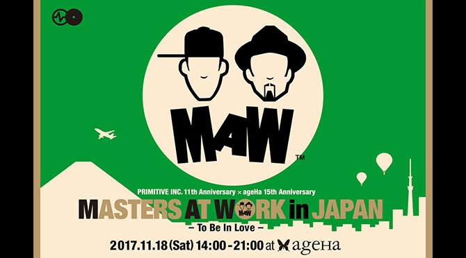 MASTERS AT WORKS in JAPAN