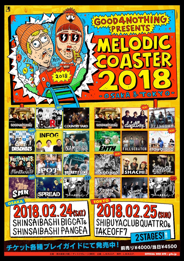 MELODICCOASTER2018