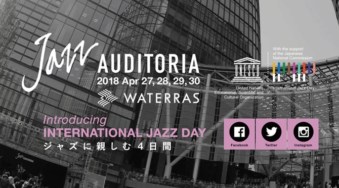 JAZZ AUDITORIA in WATERRAS