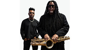 COURTNEY PINE with special guest OMAR