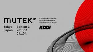 世界最先端のデジタルアートと電子音楽の祭典「MUTEK.JP 2018」開催決定!