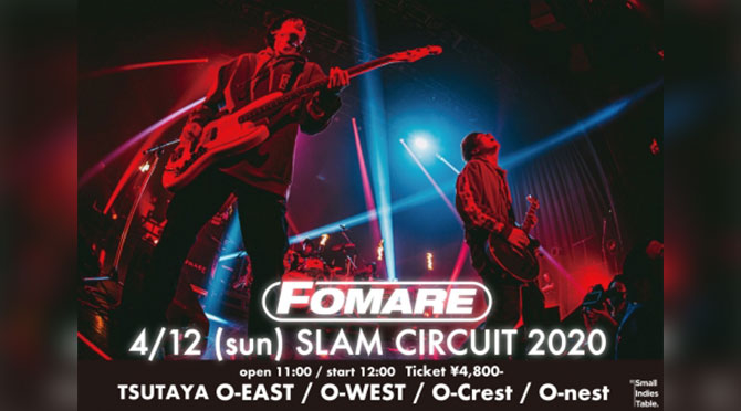 FOMARE presents SLAM CIRCUIT 2020