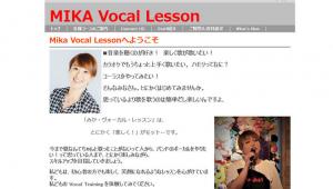 Mika Vocal Lesson