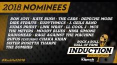 2018年「ロックの殿堂」候補者19組が発表!レディオヘッド、ボン・ジョヴィ、レイジら