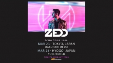 ゼッド 、「ECHO TOUR 2018」で2018年3月に来日決定!
